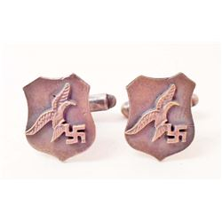 PAIR OF GERMAN NAZI LUFTWAFFE CUFFLINKS