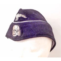 GERMAN NAZI PANZER OFFICER OVERSEAS CAP