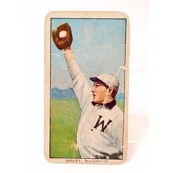 1909-11 T206 PIEDMONT BASEBALL CARD - GANLEY, WASHINGTON SENATORS