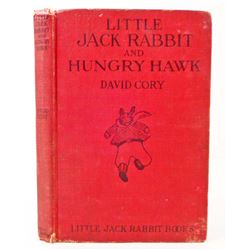 "1924 ""LITTLE JACK RABBIT AND HUNGRY HAWK"" HARDCOVER BOOK"
