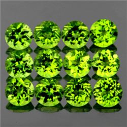 LOT OF 3.47 CTS OF GREEN PERIDOT