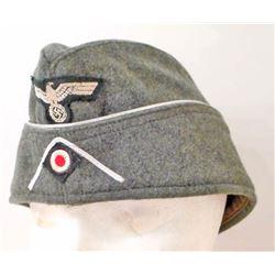GERMAN NAZI EM OVERSEAS CAP