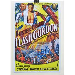 """FLASH GORDON"" MOVIE POSTER"