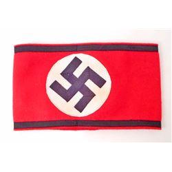 GERMAN NAZI WAFFEN SS SHULTZ STAFFEL OFFICERS ARM BAND