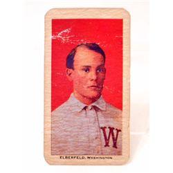 1909-11 T206 SWEET CAPORAL BASEBALL CARD - ELBERFELD, WASHINGTON SENATORS