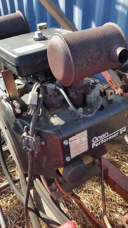 Sakundiak Auger 7 x 45ft 24HP Onan Motor