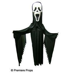 Scream 4 Ghostface Mask Mascot Movie Costumes