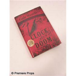 Scream 4 Gale (Courteney Cox) 'Clock of Dooom' Book Movie Props