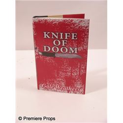 Scream 4 Gale Weathers-Riley (Courteney Cox) 'Knife of Doom' Book Movie Props