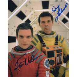 Gary Lockwood & Keir Dullea Signed Photo from 2001: A Space Odyssey