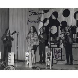 Big Brother and the Holding Company Photo Signed by Peter Albin & Sam Andrew