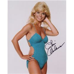 Loni Anderson Signed Swimsuit Photo