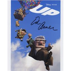 Ed Asner Signed Photo as the Voice of Carl Fredericksen from Disney's Up