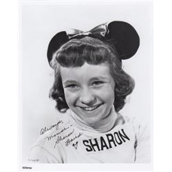 Sharon Baird Signed Mickey Mouse Club Mouseketeer Photo