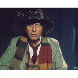 Tom Baker Doctor Who Signed Photo