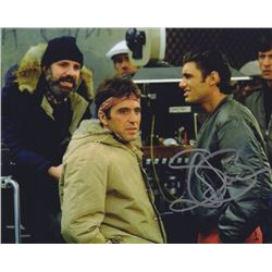 Steven Bauer Signed Photo with Al Pacino from Scarface