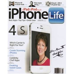 Voice of Siri Susan Bennett Signed Photo
