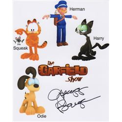 Gregg Berger Signed Photo as the Voice of Odie from The Garfield Show