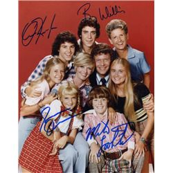 The Brady Bunch Cast Signed Photo