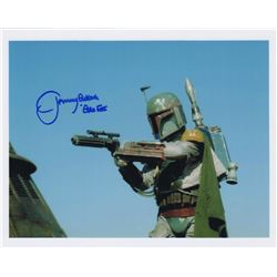 Jeremy Bulloch Signed Photo as Boba Fett from Star Wars: Episode VI - Return of the Jedi