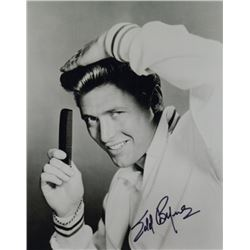Edd Byrnes Signed Photo as Vince Fontaine from Grease