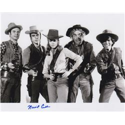 Michael Callan Signed Cast Photo from Cat Ballou with Jane Fonda