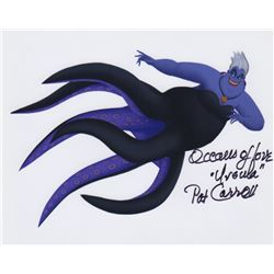Pat Carroll Signed Photo as Ursula from Disney's The Little Mermaid