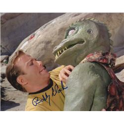 Bobby Clark Signed Photo Still as the Gorn with William Shatner from Star Trek: The Original Series