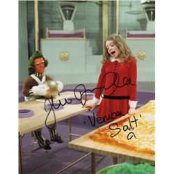 Julie Dawn Cole Signed Photo as Veruca Salt from Willy Wonka & the Chocolate Factory
