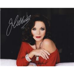 Joan Collins Signed Photo as Alexis Carrington Colby from Dynasty
