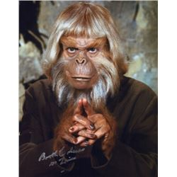 Booth Colman Signed Photo as Dr. Zaius from the Planet of the Apes TV Series