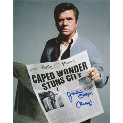 Jackie Cooper Signed Photo as Perry White from Superman