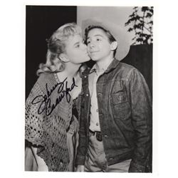 Johnny Crawford Signed Photo as Mark McCain in The Rifleman