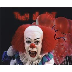 Tim Curry Signed Photo as Pennywise the Clown from the TV Mini-Series It