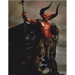 """Tim Curry 11"""" x 14"""" Signed Photo as Darkness from Legend"""