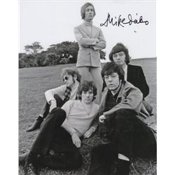 Mike d'Abo Signed Manfred Mann Band Photo