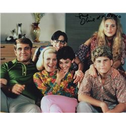 Olivia d'Abo Signed Cast Photo as Karen Arnold from The Wonder Years