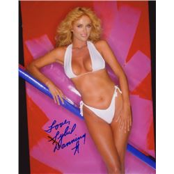 Sybil Danning Signed Swimsuit Photo