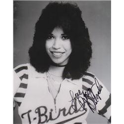 Patsy Delgado Los Angeles T-Birds Signed Photo
