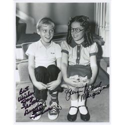 Jay North & Jeannie Russell Signed Photo from Dennis the Menace