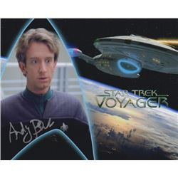 Andy Dick Signed Photo as EMH Mark II from Star Trek: Voyager
