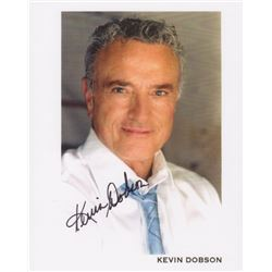 Kevin Dobson Signed Color Photo Print