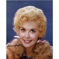 Donna Douglas Signed Color Photo