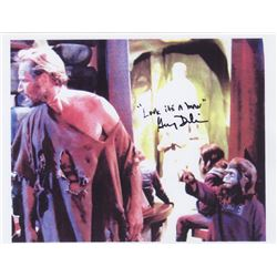 Gary Dubin Autograph on Printed Still from Planet of the Apes