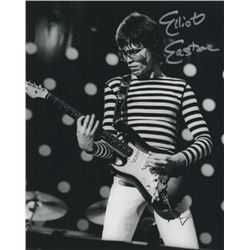 The Cars Elliot Easton Signed Performance Photo