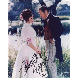 Samantha Eggar Signed Photo as Emma Fairfax with Rex Harrison from Doctor Dolittle