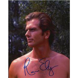 Ron Ely Signed Photo as Tarzan from the Tarzan TV Series