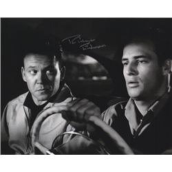 Richard Erdman Signed Photo with Marlon Brando from The Men
