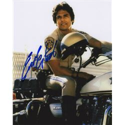 Erik Estrad Signed Photo as Officer Frank Poncherello from CHiPs