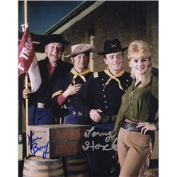 Larry Storch & Ken Berry Signed Photo from F Troop